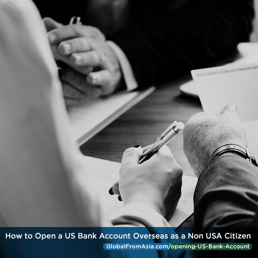 Open a us bank account online from abroad